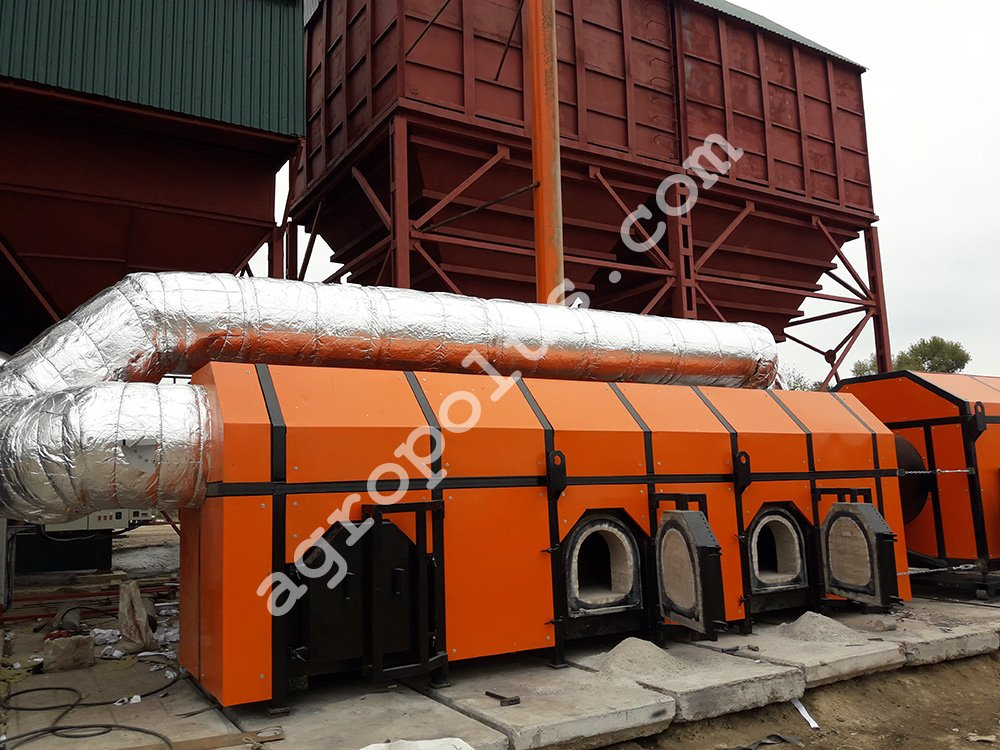 Air heat exchanger TV